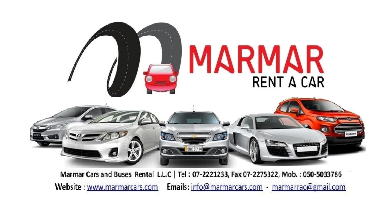 Ras Al Khaimah:            Marmar Cars and Buses Rental L.L.C