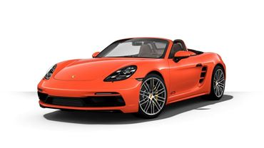 Picture of PORSCHE BOXTER ORANGE